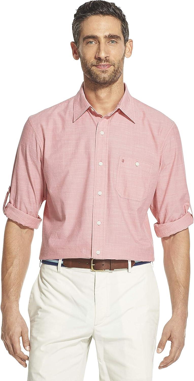 IZOD Men's Saltwater Dockside Chambray Shirt