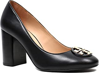 Tory Burch Janey 85MM Pump Women's Leather Heel Shoes