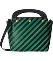Tory Burch - Striped Bermuda Bag
