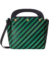 Tory Burch - Striped Bermuda Bag