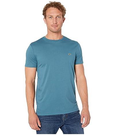 Lacoste Short-Sleeve Pima Jersey Crewneck T-Shirt (Elytra) Men