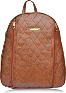 Fristo Women Backpack(FRB-285) Brown