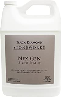 Diamond Stoneworks NEX-GEN Natural Stone Penetrating Sealer: Seals & Protects; Granite, Marble, Travertine, Limestone, Concrete, Grout, Tile, Brick, Block & Slate Floors, Patios and Fireplaces.