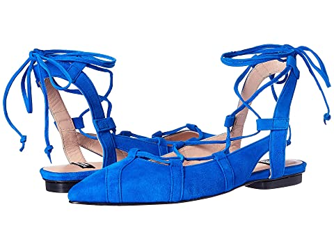 Boutique Moschino Lace-Up Flats IMYeS