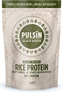 Pulsin' Protein Concentrate, Rice, 35.27 Ounce