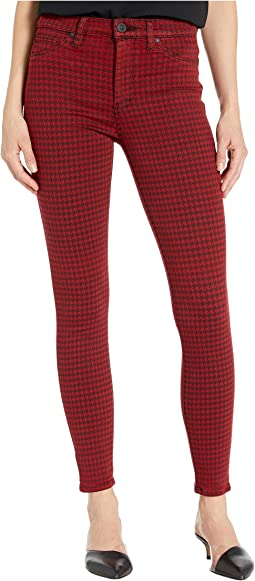 Oxblood Houndstooth