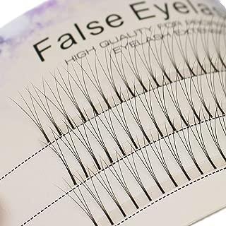 Scala 0.1 C Curl 120pcs 8-16mm to Choose Individual Lashes Black False Eyelash Natural Long Cluster Extension Makeup Beauty Health Makeup Fake Eyelashes (10mm)