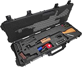 Case Club AK-47 Pre-Cut Waterproof Rifle Case with Accessory Box and Silica Gel to Help Prevent Gun Rust (Gen 2)