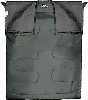Trespass Unisex Adult CATNAP 3 Season Doble Sleeping Bag, Water Repellent