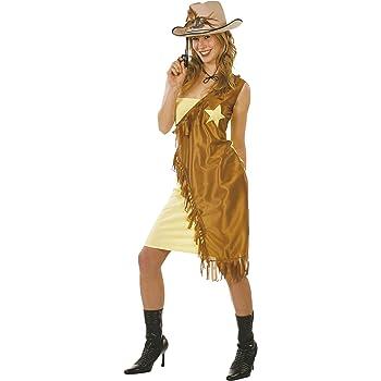 Cesar - Disfraz de vaquera (cowgirl) para mujer (adulto), talla ...