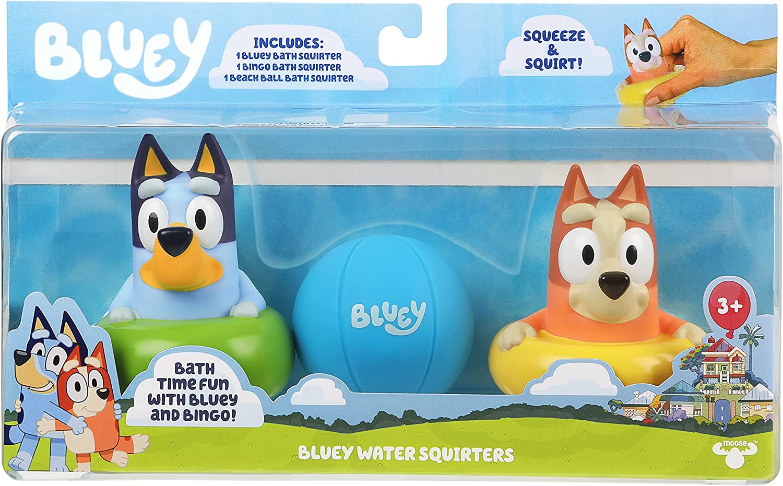Bluey Bath Squirters 3-Pack