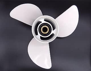 SouthMarine 6E5-45941-00-EL Aluminum Alloy Propeller 13x19-K for Yamaha 50HP 60HP 70HP 75HP 80HP 85HP 90P 100HP 115HP 130HP 140HP Outboard Motors 13 x 19 K