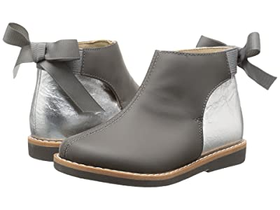 Elephantito Anabelle Bootie (Toddler/Little Kid/Big Kid) (Gray) Girls Shoes