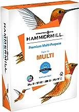 Hammermill Paper, Premium Multipurpose Paper, 8.5 x 11 Paper, Letter Size, 24lb Paper, 97 Bright, 1 Ream / 500 Sheets (105810R) Acid Free Paper