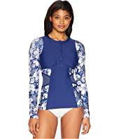 Zen Garden Detox Long Sleeve Surf Shirt