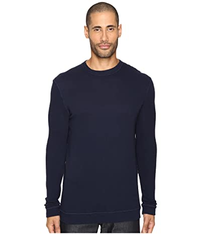 Naked & Famous Vintage Doubleface Sweater (Navy) Men