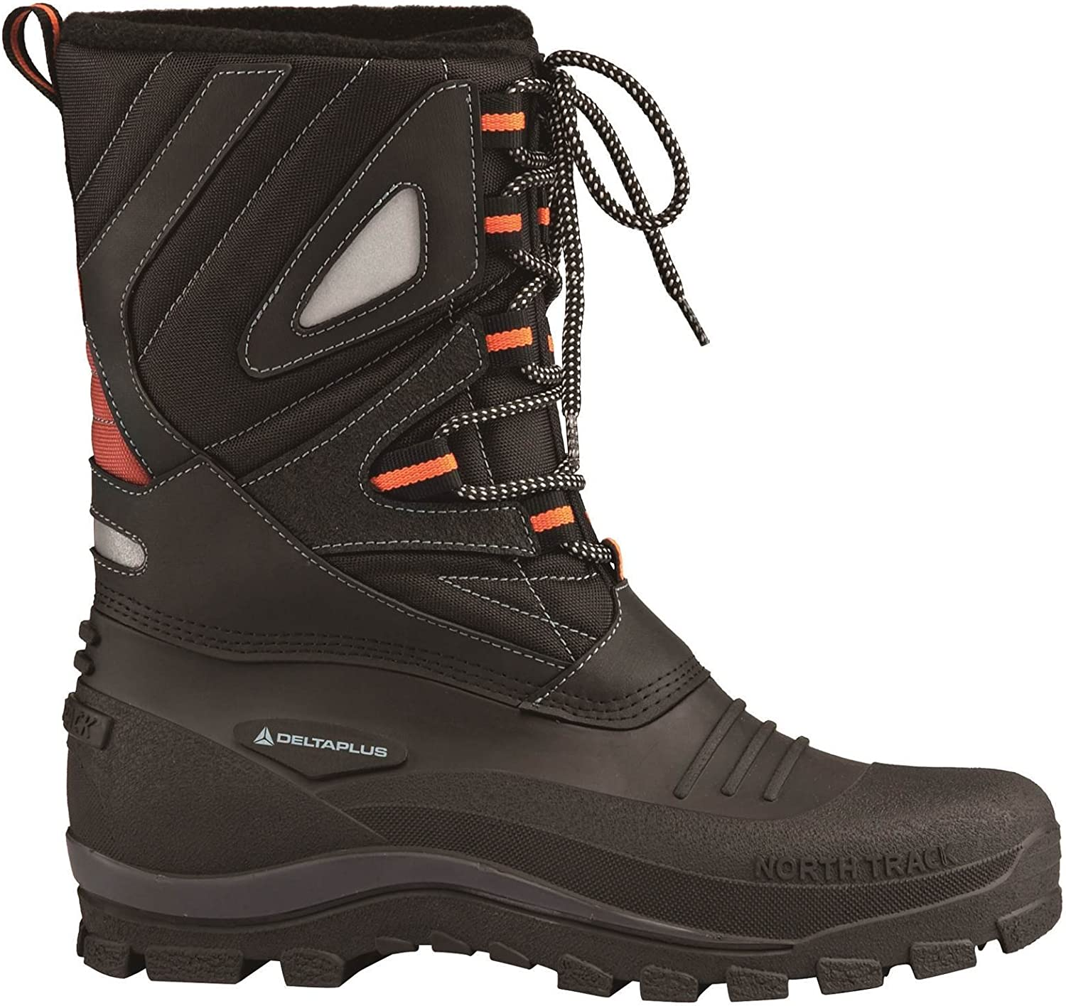 Delta Plus Lautaret Black Thermal Lined Winter Snow Boots