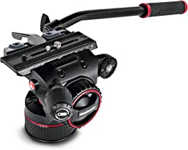 Manfrotto Nitrotech N8 Fluid Video Head w/Continuous Counterbalance System