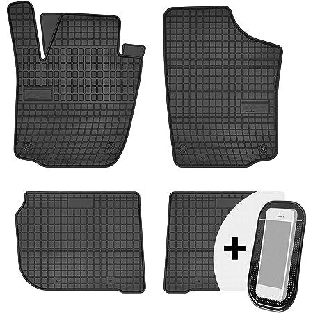 Motohobby Gummimatten Gummi Fußmatten Satz Für Skoda Rapid Seat Toledo Iv 2012 2018 Auto
