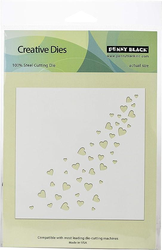 Penny Black 51492 Creative Dies-Hearts Galore 5.5