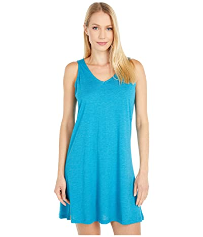 tentree Pipa Dress (Blue Lake Blue Heather) Women
