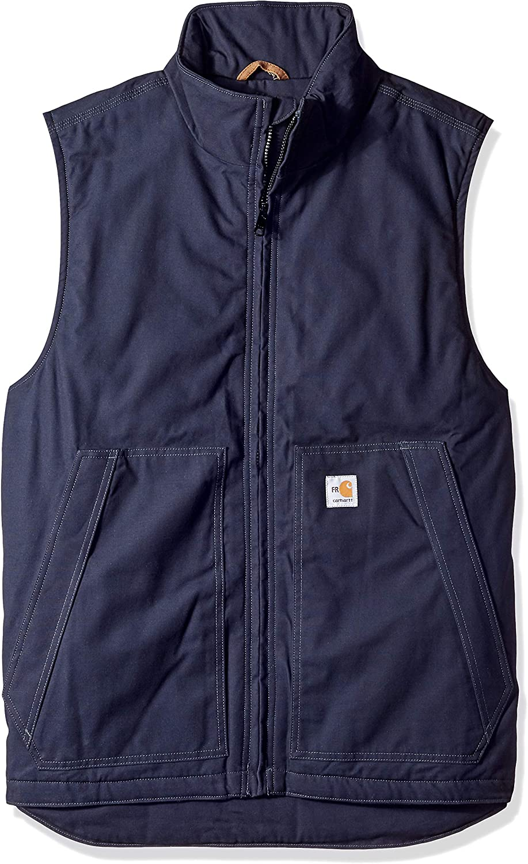 Carhartt Men's Big and Tall Big & Tall Flame Resistant Quick Duck Vest