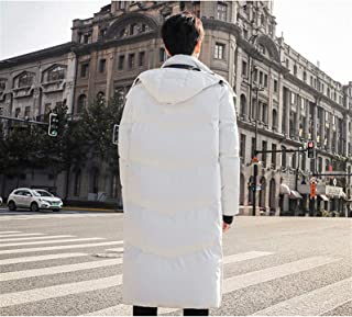Piumino da Uomo, Down Jacket Giacca da Uomo Traspirante Antivento Antivento Outwear Trend Ispessito Parka Stile Caldo Capp...