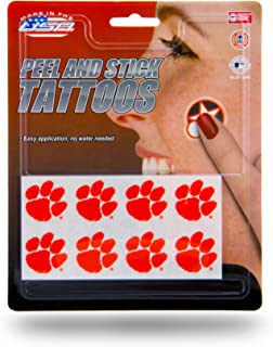 Rico Industries NCAA Face Tattoos, 8-Piece Set