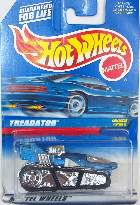 Hot Wheels treadator   791 Jahr  1998 von Hot Wheels B006SA4S4U Elegantes und robustes Menü  | Sonderkauf