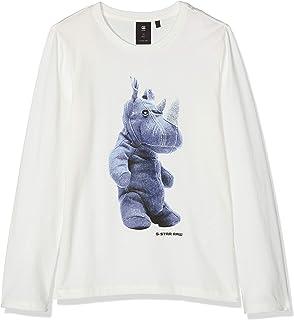 G-STAR RAW Sp10075 LS tee Camiseta de Manga Larga para Niños
