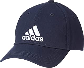 adidas 6P Cap Cotton Cap, Unisex kids, Multicolor (Tinley / White), 2/6 years
