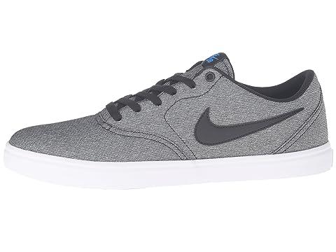 Solar Blanco Check SB Nike Negro Canvas Azul Foto ETqHT6Cwx
