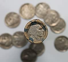 1-Roll of 40 FULL DATE 1930's Buffalo Nickels