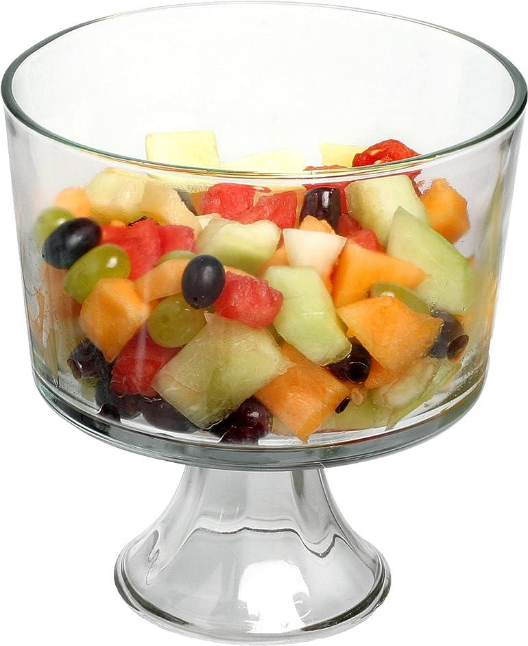 Anchor Hocking 77898 Large Trifle/Fruit Bowl, Glass