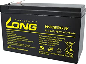 Kung Long Blei Akku 12V 9Ah WP1236W hochstrom Bleigel AGM, k