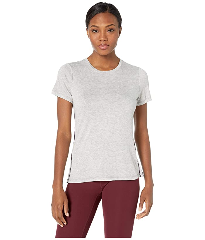 SHAPE Activewear Track Star Tee (Heather Grey) Women