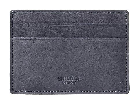 Shinola Detroit ID Card Case Outrigger