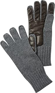 Faconnable Men's Fashion Leather Hand Gloves