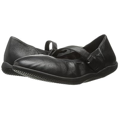 SoftWalk Hollis (Black Soft Tumbled Leather) Women