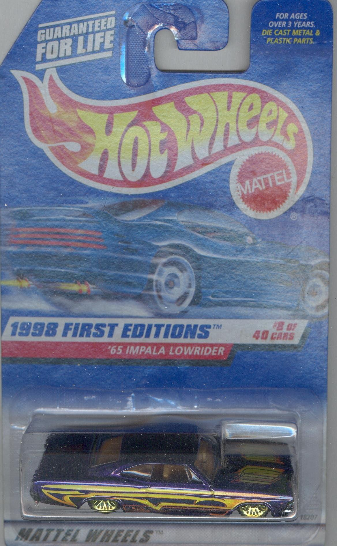 Hot Wheels Blvd Bruisers /'64 Chevy Impala 3//4 Brand New Super Rare Purple