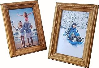 Biderrahmen Photo Frame Wood Frame 10x15 cm Photo Frame Wood Shabby Chic NEW