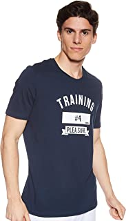 BodyTalk Men's BDTKM TSHIRT TWO TRAINING Top With Chest Print