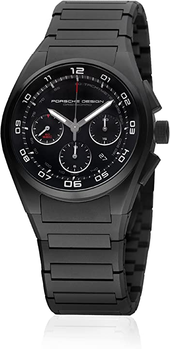 Orologio porsche design dashboard chronograph automatic black pvd titanium 6620.13.46.0269
