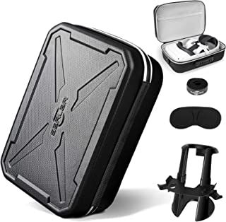 Fashion Travel Protective Case for Oculus Quest 2 VR Gaming Headset and Touch Controllers Accessories Carrying Bag,Include...