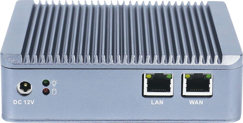円形のカブ軍艦2倍ギガビットIntel LANポート、Bareboneを備えたファイアウォールマイクロアプライアンス