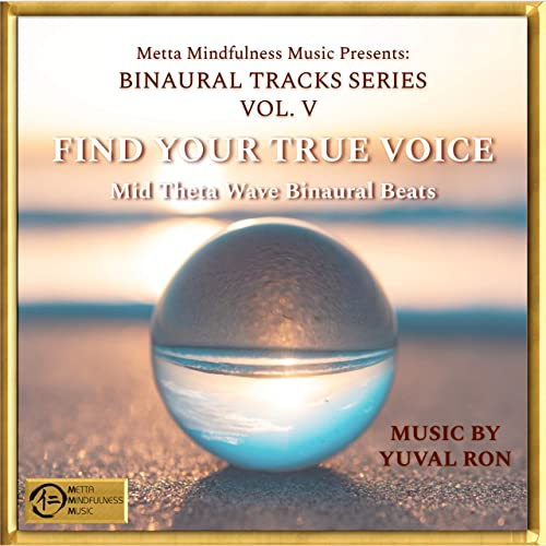 Find Your True Voice: Mid Theta Wave Binaural Beats