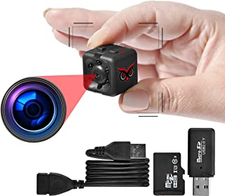 RED OWL EYES Spy Camera - Mini Hidden Camera 1080P Night Vision - Easy to Use Mini Camera Spy Wireless - Spy Cam Motion De...