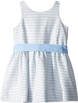 Striped Fit and Flare Dress (Toddler)