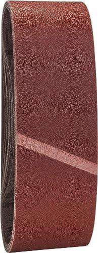 Bosch 9-Piece Sanding Belt Set 74 x 533mm (3 x G60/80/100)