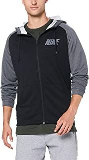 Nike Men's Dri-FIT Hooded Full Zip Longsleeve Top 931792-010